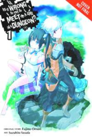IS IT WRONG TRY PICK UP GIRLS IN DUNGEON NOVEL 01