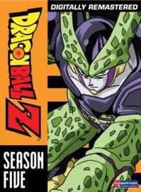 DRAGON BALL Z DVD SEASON FIVE