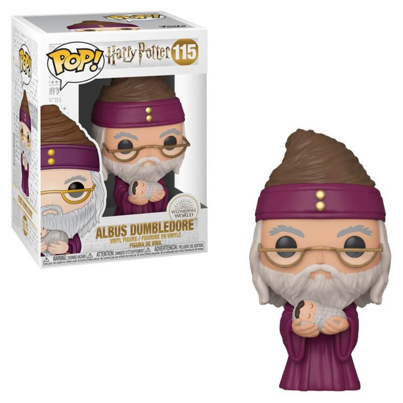 Pop! Movies: Harry Potter - Dumbledore w/ Baby Harry
