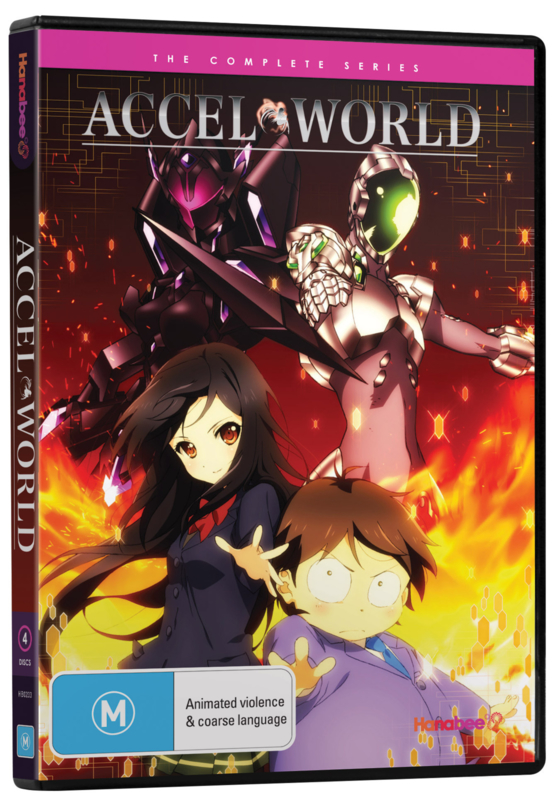 ACCEL WORLD DVD THE COMPLETE SERIES