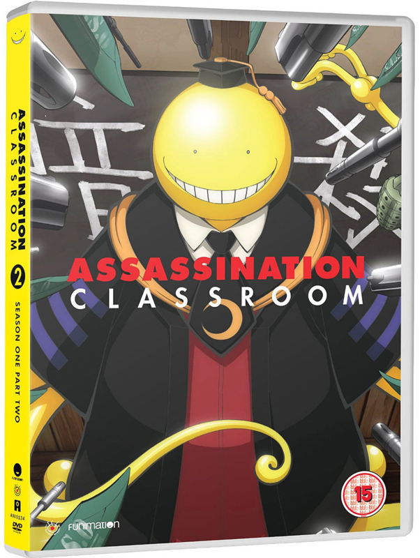 ASSASSINATION CLASSROOM DVD SEASON ONE PAT TWO