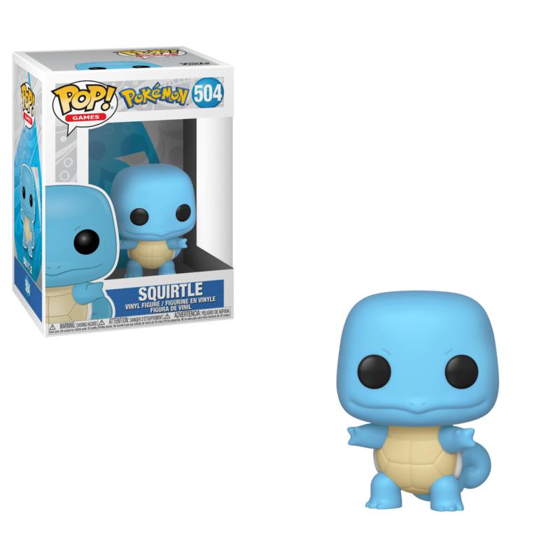 Pop! Games: Pokémon - Squirtle
