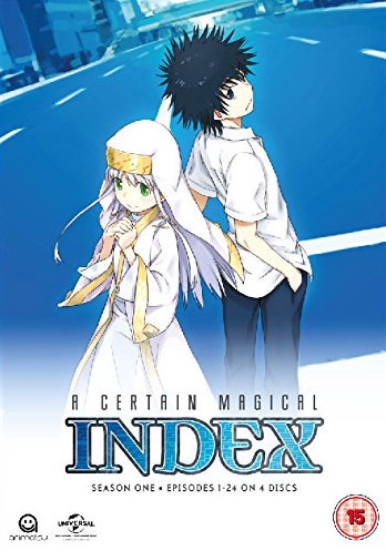 A CERTAIN MAGICAL INDEX DVD SEASON ONE