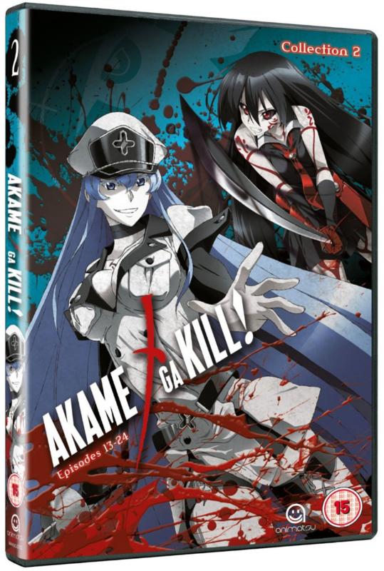 AKAME GA KILL DVD COLLECTION TWO