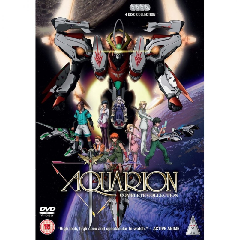 AQUARION DVD COMPLETE COLLECTION