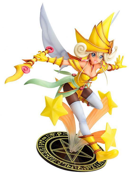 Yu-gi-oh! The Dark Side of Dimensions PVC Figure - Lemon Magician Girl 1/7