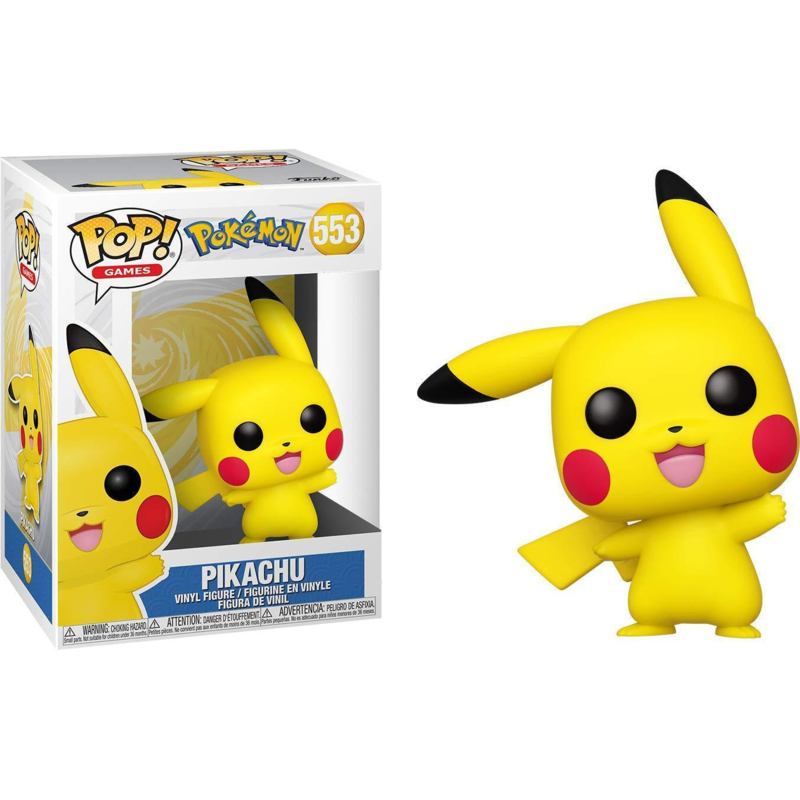 Pop! Games: Pokémon - Pikachu
