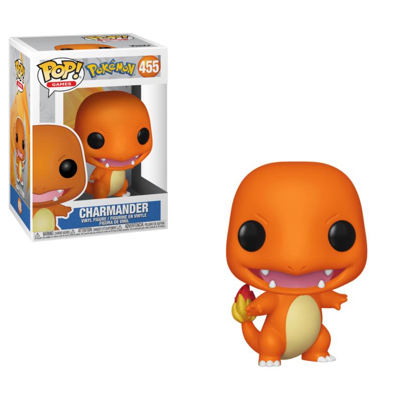 Pop! Games: Pokémon - Charmander