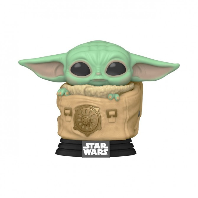 Pop! Movies: Star Wars The Mandalorian - The Child / Baby Yoda in Bag