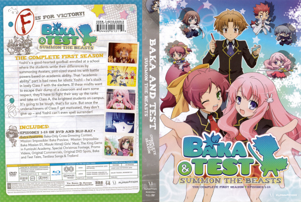 BAKA AND TEST DVD COMPLETE FIRST SEASON