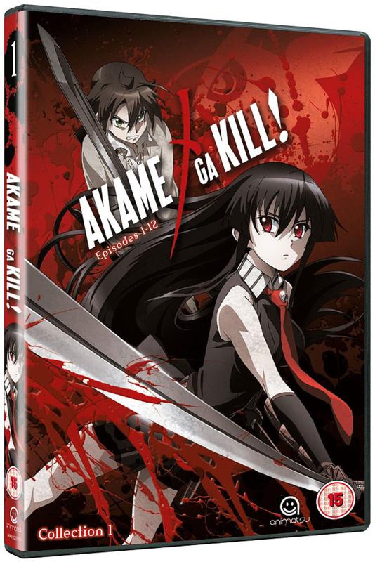 AKAME GA KILL DVD COLLECTION ONE