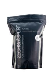 Zechsallsport flakes, 1 kg pure magnesium mét 100 g OptiMSM