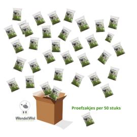 WandelWol proefzakjes 50 stuks (korting bij hogere afname)