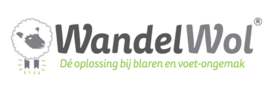 Dealerbordje WandelWol-verkooppunt en/of extra flyers 25 stuks