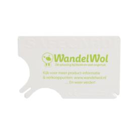 WandelWol SafeCard Tekenkaart
