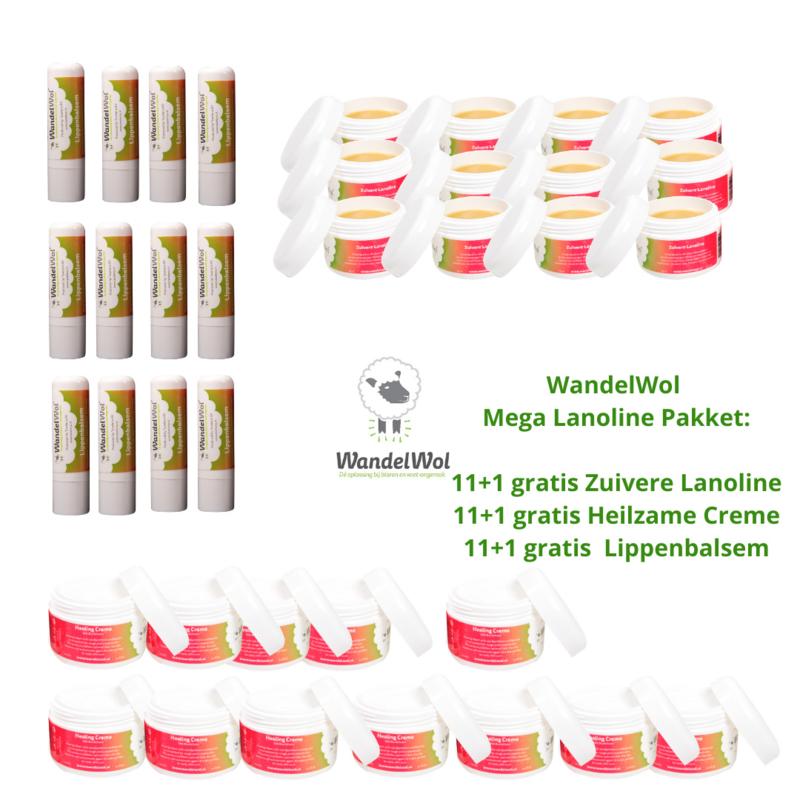 MEGA-pakket Lanoline-producten