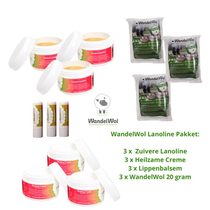 WandelWol Lanoline-pakket