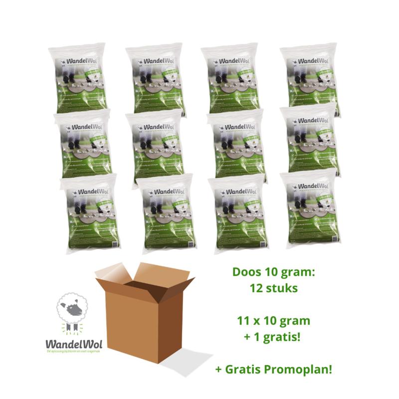 Doos WandelWol 10 gram 11 + 1 gratis