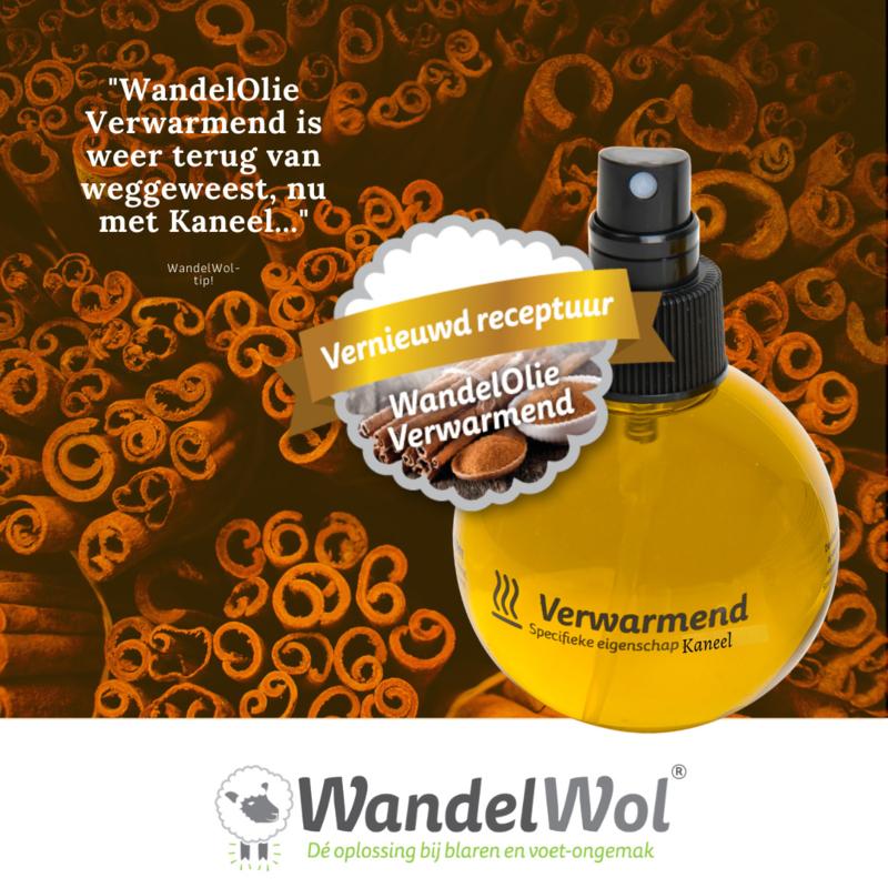 WandelOlie Kaneel Verwarmend 150 ml