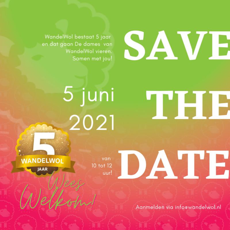 SAVE THE DATE en meld je aan voor ons verjaardagsfeestje!
