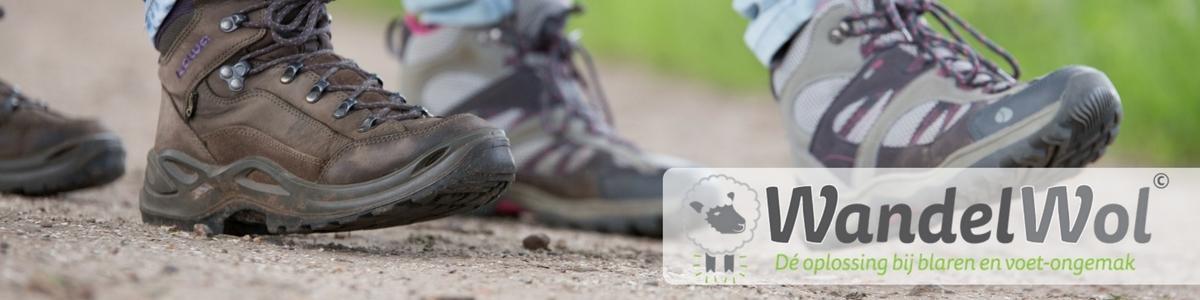 WandelWol Antidruk-Wol bij het wandelen!