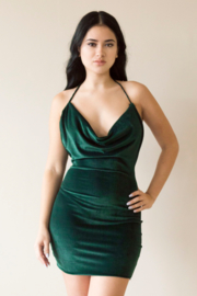 TRIPLE Velvet Dress