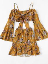 Flower Girl Skirt & Top