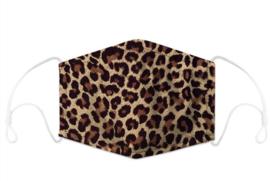 Luipaard Print Mondkapje