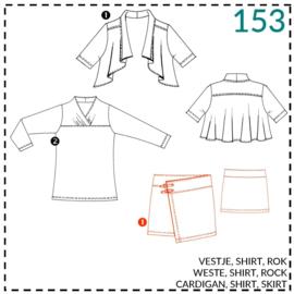 153, Wickelrock: 1 - einfach