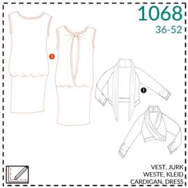 1068, jurk: 1 - makkelijk