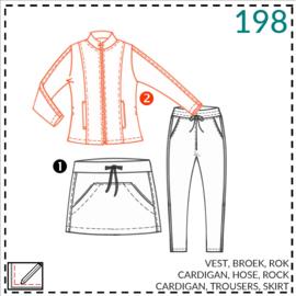 198, Cardigan: 2 - etwas Näherfahrung
