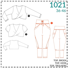 1021, lounge trousers: 1 - easy