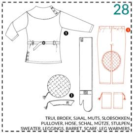 28, legging: 1 - makkelijk