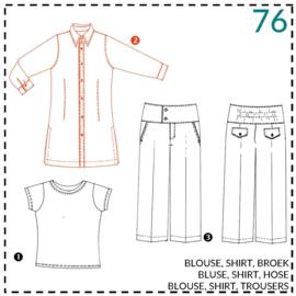 76, blouse: 2 - beetje ervaring