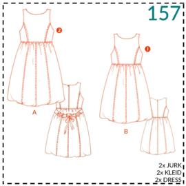 157, Kleid: 1-einfach/2-etwas Näherfahrung