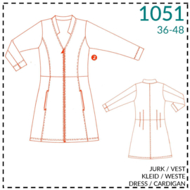 1051, dress/cardigan: 2 - little experience