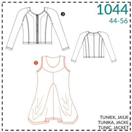 1044, Tunika: 1 - einfach