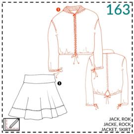 163, Jacke: 1 - einfach
