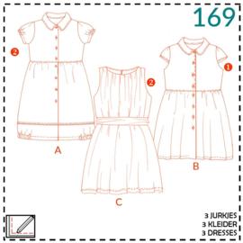 169, Kleid: 1-einfach/2-etwas Näherfahrung
