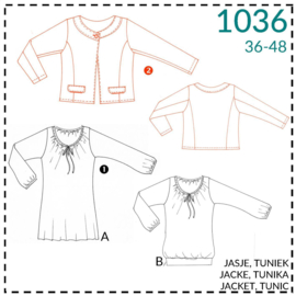 1036, jacket: 2 - little experience