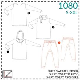 1080, Hose: 1 - einfach