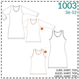 1003 basisshirt: 1 - makkelijk