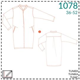 1078, Tunika: 2 - etwas Näherfahrung