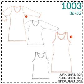 1003, basic dress: 1 - easy