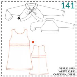 141, jurk: 1 - makkelijk
