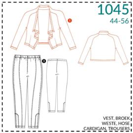 1045, Weste: 1 - einfach
