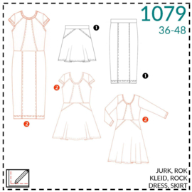 1079, jurken: 2 - beetje ervaring