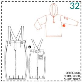 32, Shirt: 2 - etwas Näherfahrung