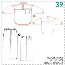 39, blouse: 2 - beetje ervaring