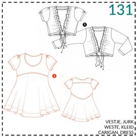131, jurk: 1 - makkelijk
